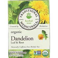 Organic Dandelion Leaf and Root Herbal Tea