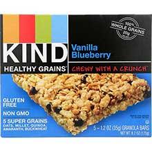 Healthy Grains Vanilla Blueberry Granola Bar