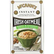 McCanns Apple and Cinnamon Instant Irish Oatmeal 12.3 Ounce