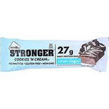 Stronger Cookies N Cream Nutrition Bar