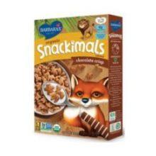 Organic Snackimals Chocolate Crisp Cereal