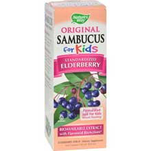 Original Sambucus Standardized Elderberry Syrup for Kids