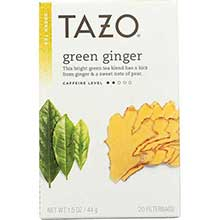 Tazo Ginger Green Tea