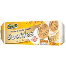Vanilla and Vanilla Cream Sandwich Cookie