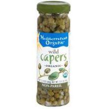 Mediterranean Organic Wild Caper 3.5 Ounce