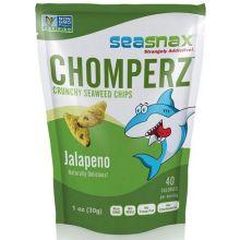 Chomperz Crunchy Jalapeno Seaweed Chips
