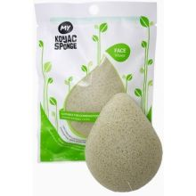 French Green Clay Facial Sponge