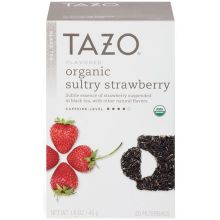 Organic Sultry Strawberry Black Tea