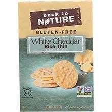 White Cheddar Rice Thin Cracker