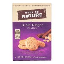 Triple Ginger Cookie