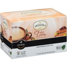 K Cups Chai Latte Black Tea