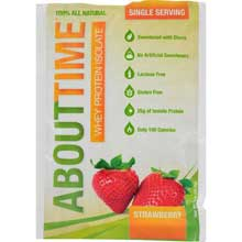 Strawberry Whey Protein Isolate