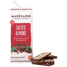 Salted Almond Chocolate Bars