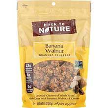 Banana Walnut Granola Clusters