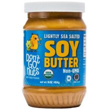 Lightly Sea Salted Soy Butter
