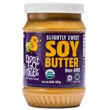 Slightly Sweet Soy Butter