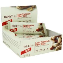 Chunky Chocolate Peanut Lean Protein and Fiber Bar