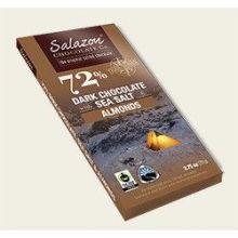 Organic Dark Chocolate Sea Salt and Almond Candy Bar