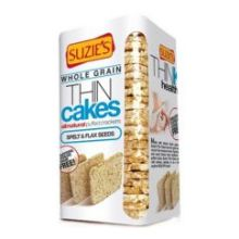 Spelt and Flax Seeds Think Cakes