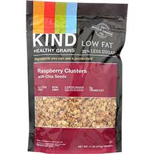Healthy Raspberry Clusters with Chia Seeds Clusters