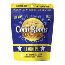Organic Lemon Pie Coco Roons