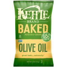Olive Oil Baked Potato Chips