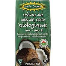 Lets Do Organic Creamed Coconut 7 Ounce