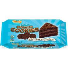Organic Chocolate Layer Cake Sandwich Cookie