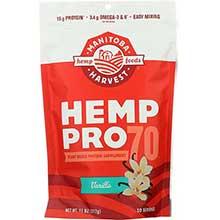 HempPro 70 Vanilla Protein Powder