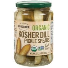 Organic Dill Pickle Spears
