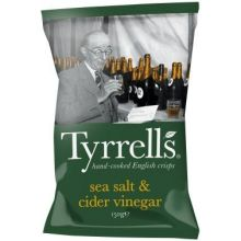 Sea Salt and Cider Vinegar Potato Chips