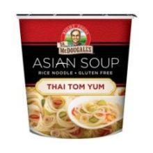 Thai Tom Yom Rice Noodle Asian Soup