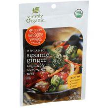 Organic Sesame Ginger Vegetable Seasoning Mix