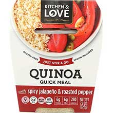 Spicy Jalapeno and Roasted Pepper Quinoa Meal