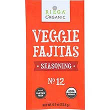 Organic No 12 Veggie Fajitas Seasoning Mix
