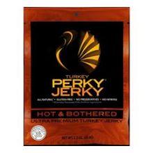 Black Hot and Bothered Turkey Jerky