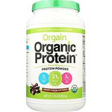 Organic Creamy Chocolate Fudge Plant Based Protein Powder