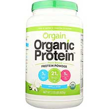 Organic Sweet Vanilla Bean Plant Based Protein Powder