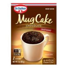 Organics Chocolate Mug Cake Mix