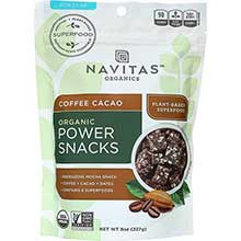 Organic Coffee Cacao Power Snacks