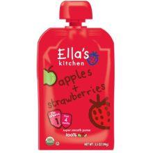 Organic Apples Plus Strawberries Baby Food