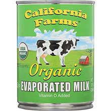 California Farms Organic Evaporated Milk
