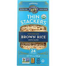 Thin Stackers Organic Lightly Salted Brown Rice Cake