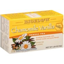 Chamomile Vanilla Herbal Tea with Honey