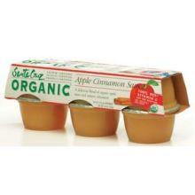 Santa Cruz Organic Apple Cinnamon Sauce Cup 4 Ounce