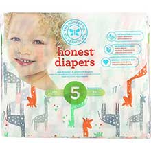 Size 5 Giraffes Diapers