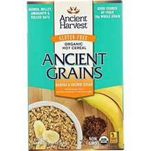 Organic Gluten Free Banana and Brown Sugar Hot Breakfast Cereal
