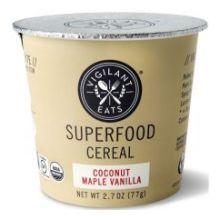 Organic Coconut Maple Vanilla Cereal