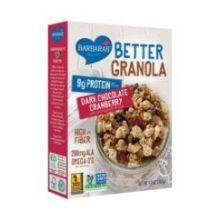 Better Dark Chocolate Cranberry Granola Cereal