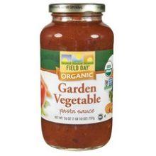 Organic Garden Vegetable Pasta Sauce